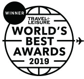 Travel + Leisure 2019 World's Best Award Winner
