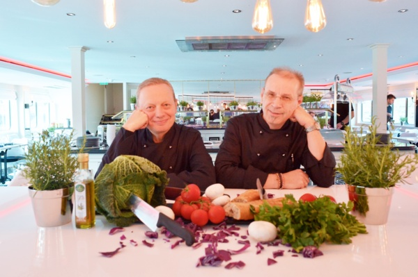 Brett Tollman and Chef Bernhard Zorn, U Launch 10-07-2017 (PR only)