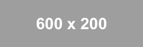 Placeholder 600 x 200