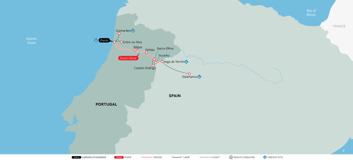 Portugal, Spain & the Douro River Valley - cruise-only (2020)
