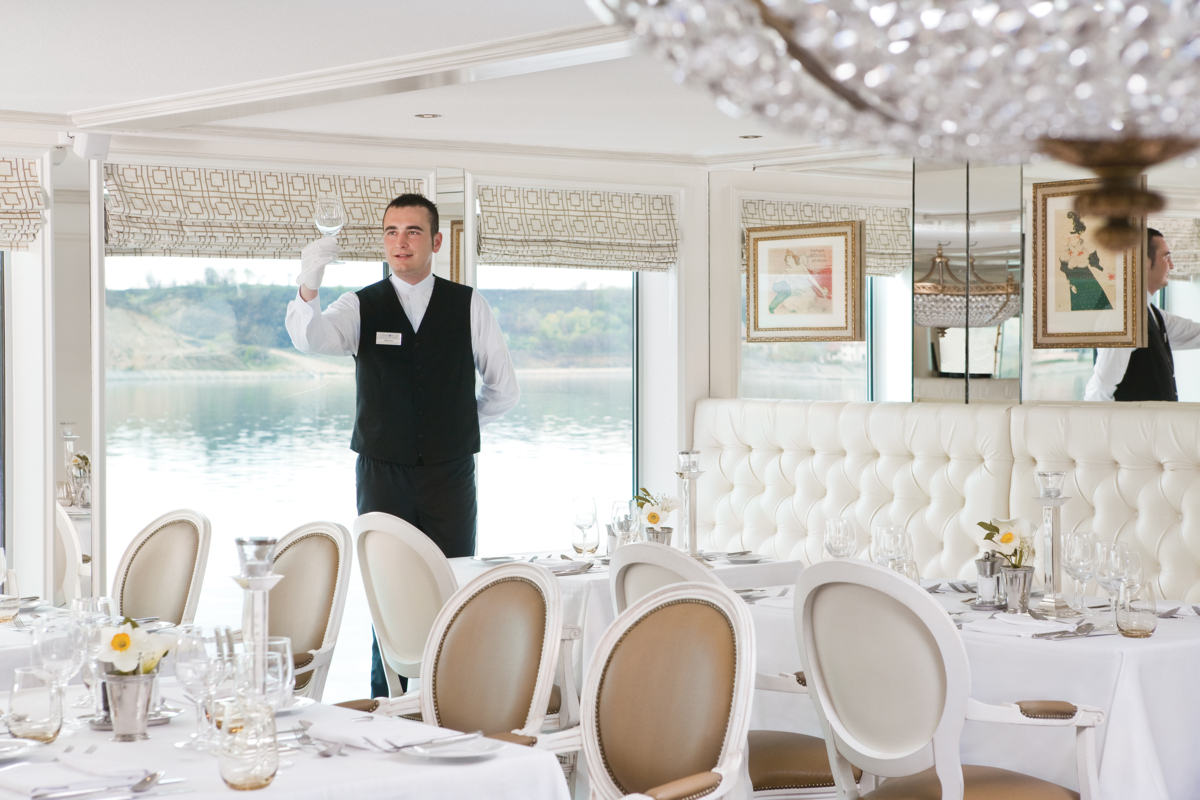 Savoy Restaurant service (River Countess)